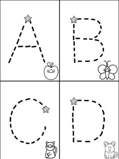Free Traceable Alphabet MiniBook---Mrs. Christy's Classroom Experiences