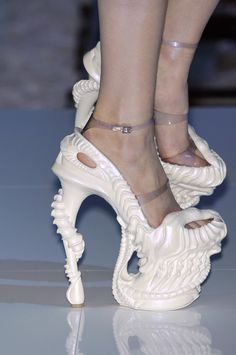 or my beautiful daughter could wear these to her wedding... by Alexander Mcqueen