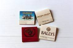 LAS VEGAS Casino MATCHBOOKS, Vintage match book,Back strike matchbook,Excalibur matchbook,Las Vegas hotel matchbook,vintage collectible by TheJellyJar on Etsy