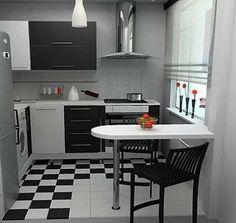 Mobilier pentru bucatarii mici. 16 exemple proiectate | Info-CS