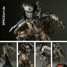 Predator 1: Predator Diorama » Typ: Statue / Diorama » Hersteller: Sideshow » https://spaceart.de/produkte/pr006.php