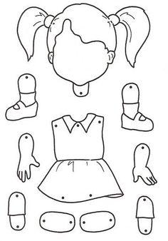 body parts for children crafts Preschool Lessons, Preschool Worksheets, Preschool Activities, Listening Activities, Toddler Crafts, Toddler Activities, Crafts For Kids, Children Crafts, Body Parts Preschool