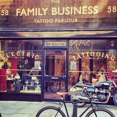 Lets get tattoos in london! hah The Family Business Tattoo Shop in London, Greater London