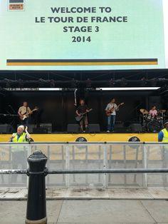 Tour de France Fanpark, July 2014, Trafalgar Square, London