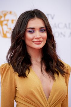 Amy Jackson attends the Virgin TV British Academy Television Awards at The Royal Festival Hall on May 2018 in London, England. Most Beautiful Indian Actress, Beautiful Actresses, Hot Actresses, Indian Actresses, Actress Amy Jackson, Beautiful Girl Image, Beautiful Images, Beautiful Women, Beauty Full Girl