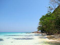 Bamboo Island. Mar de Andamán