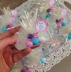 Söz veya nişanınız da dağıtmak için minik söz tepsileri Happy Birthday Tag, Fairy Birthday Party, Barbie Birthday, Third Birthday, Creative Gift Wrapping, Creative Gifts, Eid Crafts, Diy And Crafts, Party Gifts