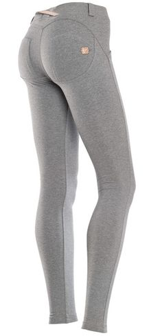 10877f2b87a (WRUP1L1E-H40) Wr.UP Basic Light Grey Low Waist Skinny Jersey Pant