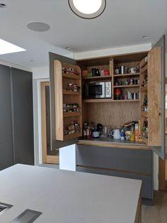 Price Guide for bespoke handleless kitchens - TRUE BESPOKE KITCHENS Kitchen Cost, Open Plan Kitchen Living Room, Kitchen Cabinets In Bathroom, Kitchen Decor, Kitchen Ideas, Kitchen Furniture, Modern Furniture, Furniture Design, Elegant Kitchens