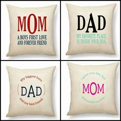 These pillows are great for the family!
