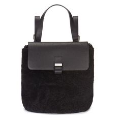 Black whistles backpack