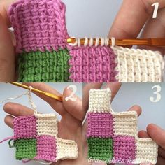 Hottest Cost-Free Tunisian Crochet entrelac Thoughts Crochet Scoodie – How To Crochet the French Vanilla Button Cowl, Episode 261 – Crochet Amigurumi, C2c Crochet, Crochet Quilt, Crochet Blocks, Crochet Squares, Crochet Crafts, Crochet Projects, Granny Squares, Crochet Blankets