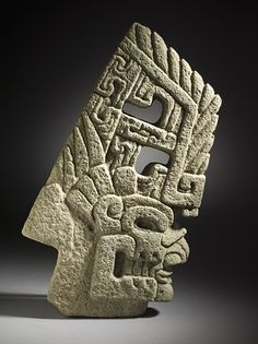"historical-nonfiction: "" A mayan skull hacha, or axe, carved from basalt stone. Mexico, circa 600 - 900 CE – the late Classic Period. Colombian Art, Maya Civilization, Inka, Art Premier, Aztec Art, Art Sculpture, Ancient Artifacts, Ancient Civilizations, American Art"