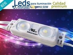 ¿Ya te enteraste? Nuevos LEDS #ALLANSON para iluminación de Letras de Canal y Anuncios Luminosos! Contacto:  614 432 6100