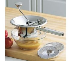 CHEFS Stainless-Steel Food Mill.  Save $70 with our Online Warehouse Sale!