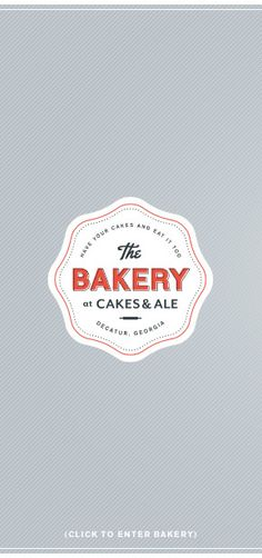 LOGO! The Bakery at Cakes & Ale