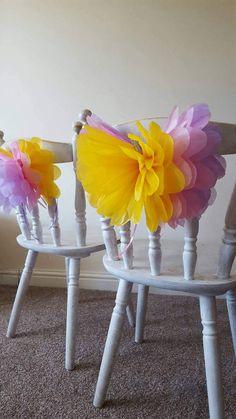 parte silla decoraciones 14 pulgadas mariposa silla los lazos