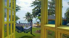View from Beachside Cottages in Negril, Jamaica.