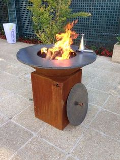 OFYR - The art of outdoor cooking Grill Canopy, Grill Gazebo, Barbecue Grill, Grilling, Plancha Grill, Bbq Shed, Water Fountain Design, Corten Steel Planters, Backyard House
