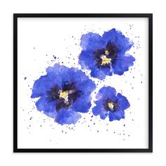 """""""In Bloom"""" - Art Print by Jacie Morgan in beautiful frame options and a variety of sizes."""