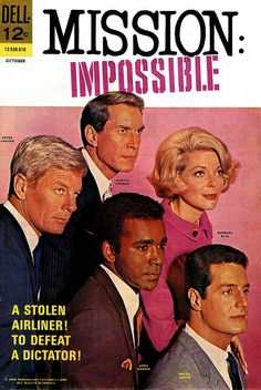 Mission : Impossible, Issue Dell Comic Books, October was all about the tv show, not the comic. Tv Vintage, Great Tv Shows, Old Tv Shows, Mejores Series Tv, Cinema Tv, Tv Guide, Comic Book Covers, Comic Books, Film Serie