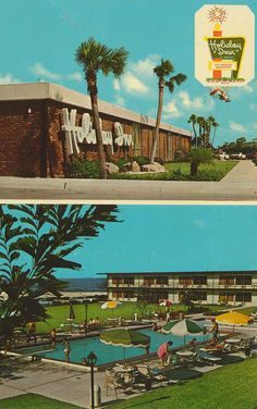 Postcard Of Ft Desoto Park Restaurant Patio 1960s