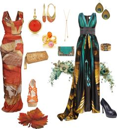"""True Autumn Soft Dramatic Evening"" by sensualbohemian on Polyvore"