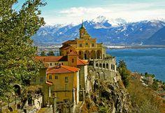 Monastery Madonna del Sasso, Switzerland