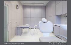 Wnętrze kliniki stomatologicznej AN54. Projekt i realizacja: lengiewicz-charkiewicz.com