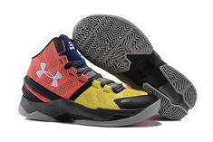 d2f645d5a81 Buy Under Armour Curry Two 2 Red Yellow-Black-Grey-Dark Blue Discount from  Reliable Under Armour Curry Two 2 Red Yellow-Black-Grey-Dark Blue Discount  ...