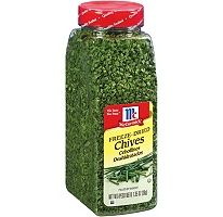 McCormick Freeze-Dried Chives.  http://affordablegrocery.com