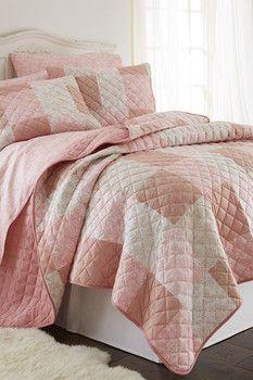 Micro Flannel Quilt Set - Enchantment Patchwork