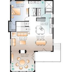 Sunroom with 2-Sided Fireplace - 22321DR | Cottage, Country, Mountain, Vacation, Canadian, Metric, Narrow Lot, 1st Floor Master Suite, Butler Walk-in Pantry, CAD Available, Den-Office-Library-Study, PDF | Architectural Designs