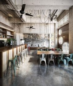 Creative Coffee by Diego Querol Sangüesa - Ronen Bekerman's 3d Architectural Visualization Blog