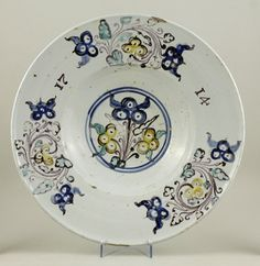 IMM gyűjtemények Porcelain, Pottery, China, Plates, Tableware, Hall Pottery, Licence Plates, Plate, Dinnerware