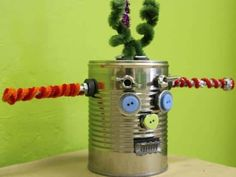 Cool project from http://www.kiwicrate.com/projects/Mr.-Potato-Head-Robot/373: Mr. Potato Head Robot