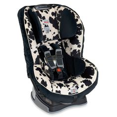 Because Britax seats are the best and because everyone needs a little animal print in their car.