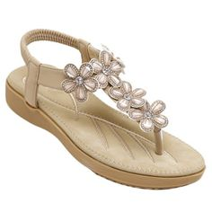 GET $50 NOW | Join RoseGal: Get YOUR $50 NOW!http://www.rosegal.com/sandals/casual-rhinestone-and-elastic-band-design-sandals-for-women-536624.html?seid=7428461rg536624