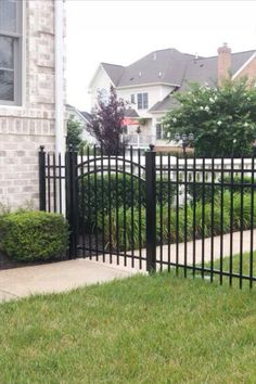 Protect your yard with this stylish 4 ft aluminum fence. Repin if you prefer aluminum #fences. | Gainesville VA | Beitzell Fence