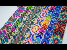 БРАСЛЕТЫ ИЗ БИСЕРА. БИСЕРОПЛЕТЕНИЕ ДЛЯ НАЧИНАЮЩИХ. 2 техники - YouTube Jewelry Making Tutorials, Beading Tutorials, Brick Stitch Tutorial, Hand Embroidery Videos, Bead Loom Bracelets, Native American Beadwork, Beading Techniques, Peyote Beading, Couture Sewing