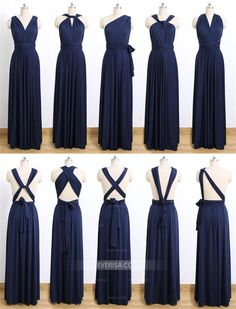 Navy Blue Convertable Dress,Multiway,Infinity Bridesmaids Dress is part of Bridesmaid dresses Navy Blue Convertable Dress,Multiway,Infinity Bridesmaids DressCreate endless styles with Infinity dress - Multiway Bridesmaid Dress, Infinity Dress Bridesmaid, Maternity Bridesmaid Dresses, Wedding Dresses, Convertible Bridesmaid Dresses, Bridesmade Dresses, Dresses Dresses, Long Dresses, Infinity Dress Ways To Wear