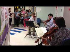 Atlanta Symphony Orchestra Plays Lullabies for NICU Babies and Staff #childrensatl