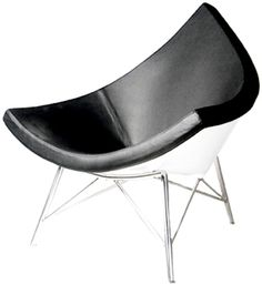 Classic Modern Chair (Coconut Chair)  Description:  1950's Classic George Nelson Style Coconut chair with fiberglass chair shell. Other coconut chairs may also be available in the vintage chair category.  Price:  $750.00