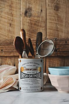Cute use of kitchen utensil storage from have cake, will travel blog. Would also be cute for paint brushes, art supplies, other tools.
