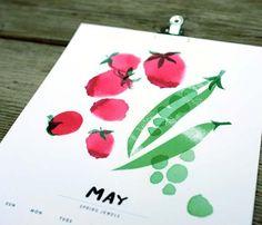 Seasonal Harvest Calendar 2013