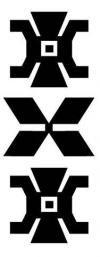 Anümka Simbolos textiles Mapuches  Diseño más prolijo de Añumka, símbolo de una planta usada con fines médicos y decorativos.