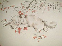 Painting by Gu Yingzhi.