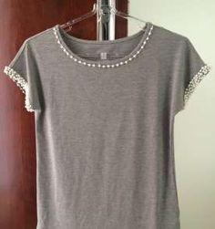 Camiseta bordadinha