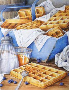 aquarelle composition