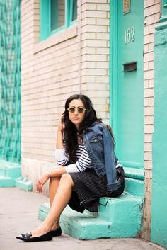 Fashion Challenge: Shorts For Fall #refinery29